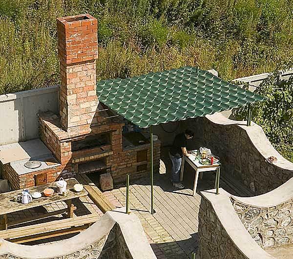 Крыша для мангала своими руками из подручных материалов