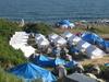 База отдыха Калейдоскоп, палаточный городок, Ливадия