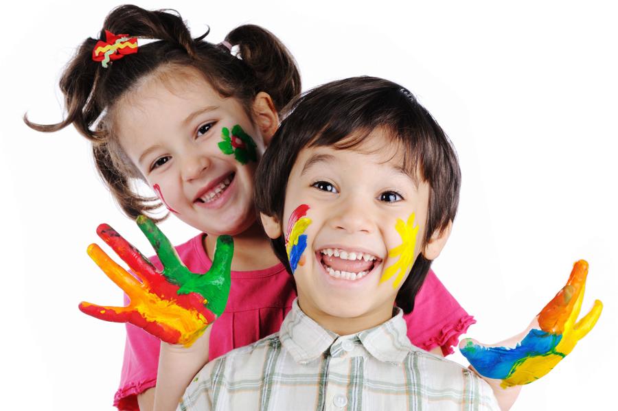занятия живописью для детей: