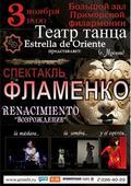 Спектакль Фламенко «RENACIMIENTO». «ВОЗРОЖДЕНИЕ»