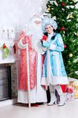 Знакомство с Дедом Морозом и Снегурочкой