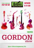 GORDON show!