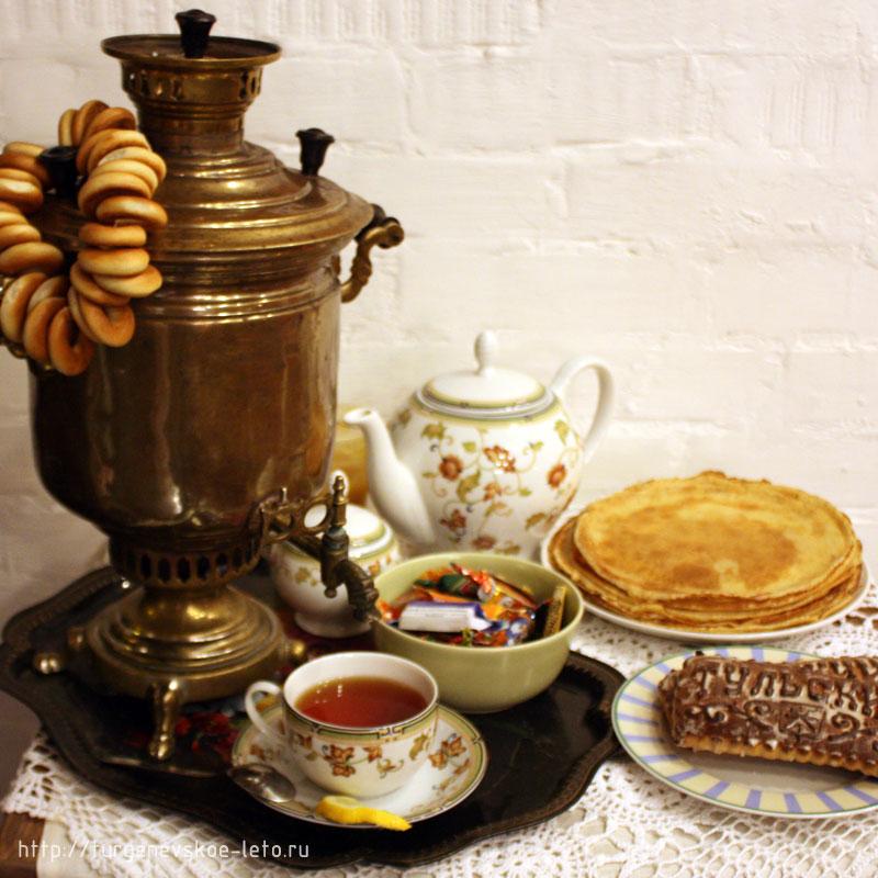 Картинки самовар чай