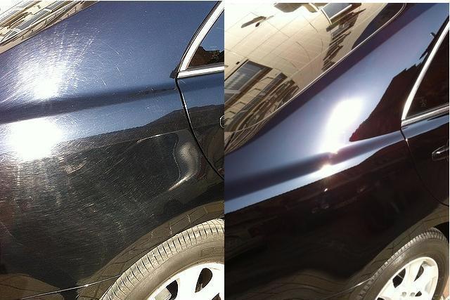 Восстановление лкп автомобиля без покраски