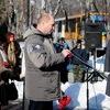Во Владивостоке почтили память погибших во время боевых действий на Северном Кавказе. На фото: Павел Гетман