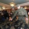 Участники были в разных «образах»: морские пехотинцы Тихоокеанского флота, «американцы» и многие другие — newsvl.ru
