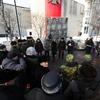 Сегодня, 11 декабря, у мемориала приморцам, погибшим в ходе локальных войн и конфликтов, собрались ветераны, чиновники, школьники — newsvl.ru