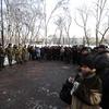 Среди собравшихся и представители СОБРа, ОМОНа, 14-й бригады спецназа, других подразделений и частей — newsvl.ru