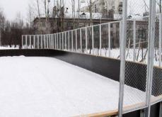 К Новому году в 71-ом микрорайоне восстановят хоккейные коробки.