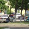 Милиционеры блокировали дом, где укрывается Александр Ковтун/ ФОТО  читателя VL.ru по имени Дмитрий