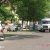 Милиционеры блокировали дом, где укрывается Александр Ковтун. ФОТО  читателя VL.ru по имени Дмитрий