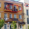 """Квартира, где держали оборону """"охотники за милиционерами2.  Фото с сайта ussur.net"""