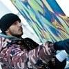 Граффити-работы будут размещены между пролетами этажей клуба.