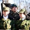 Митинг прошел в сквере у Дома Молодежи (пр-кт 100-летия Владивостоку, 103)