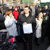 Организаторы акции говорили о нарушениях в ходе голосования 4 марта