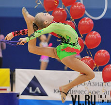 Во Владивостоке прошло первенство города по спортивной гимнастике.