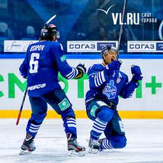 Волевая победа: «Адмирал» во второй раз переиграл «Барыс» во Владивостоке (ФОТО)