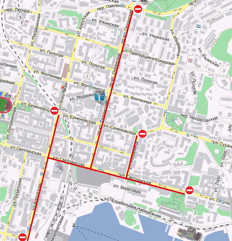 Кроме того, в центре Владивостока будет ограничено движение и стоянка автотранспорта - newsvl.ru.