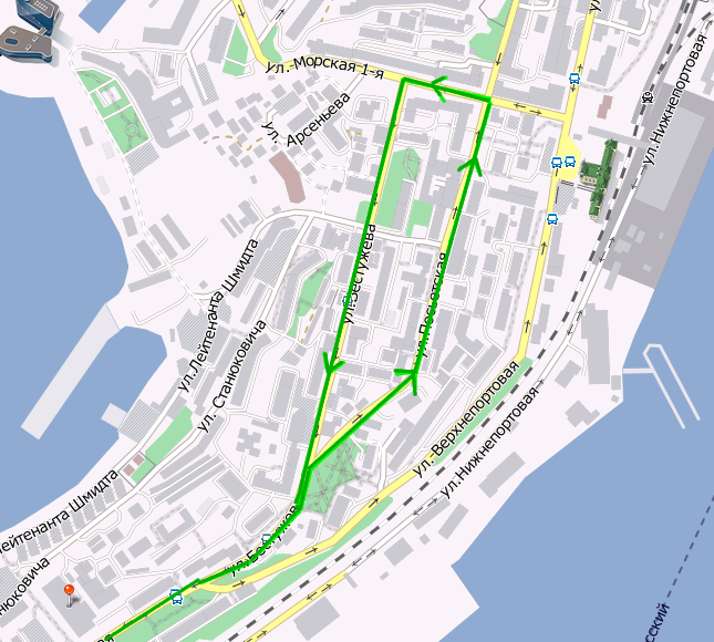 В День Победы во Владивостоке изменится схема движения общественного транспорта (СХЕМА) .