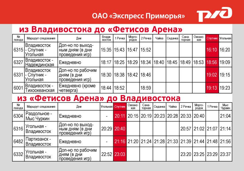 """Как сообщается в пресс-релизе компании, электропоезда будут работать в режиме экспрессов на линии  """"Владивосток..."""