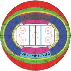 Ледовый дворец на Ходынском поле, г. На первом этаже здания расположена ледовая арена, на втором - нижний ярус трибун...